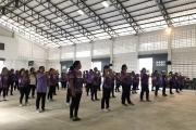 คีตะมวยไทย10ท่า ออกกำลังกายเพื่อสุขภาพเฉลิมพระเกียรติฯ